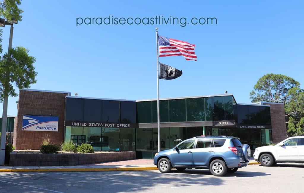 US Post Office Bonita Springs Florida